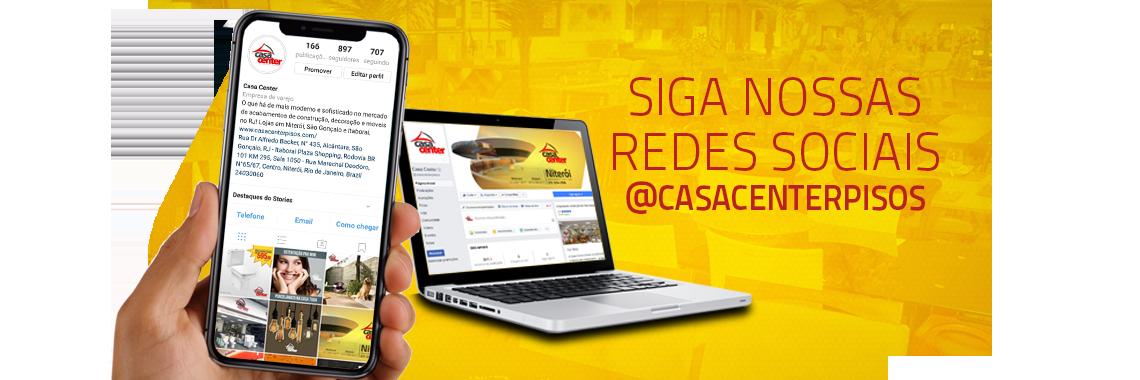 Siga nossas redes sociais!