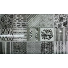 Lanzi 30x60 Patchwork Black