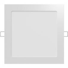 LLUM Luminária Painel de Led Quadrada de Embutir 6w Bivolt Slim Branca 6500k